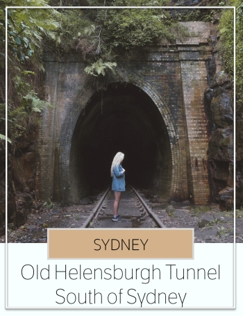 Old Helensburgh Tunnel south sydney
